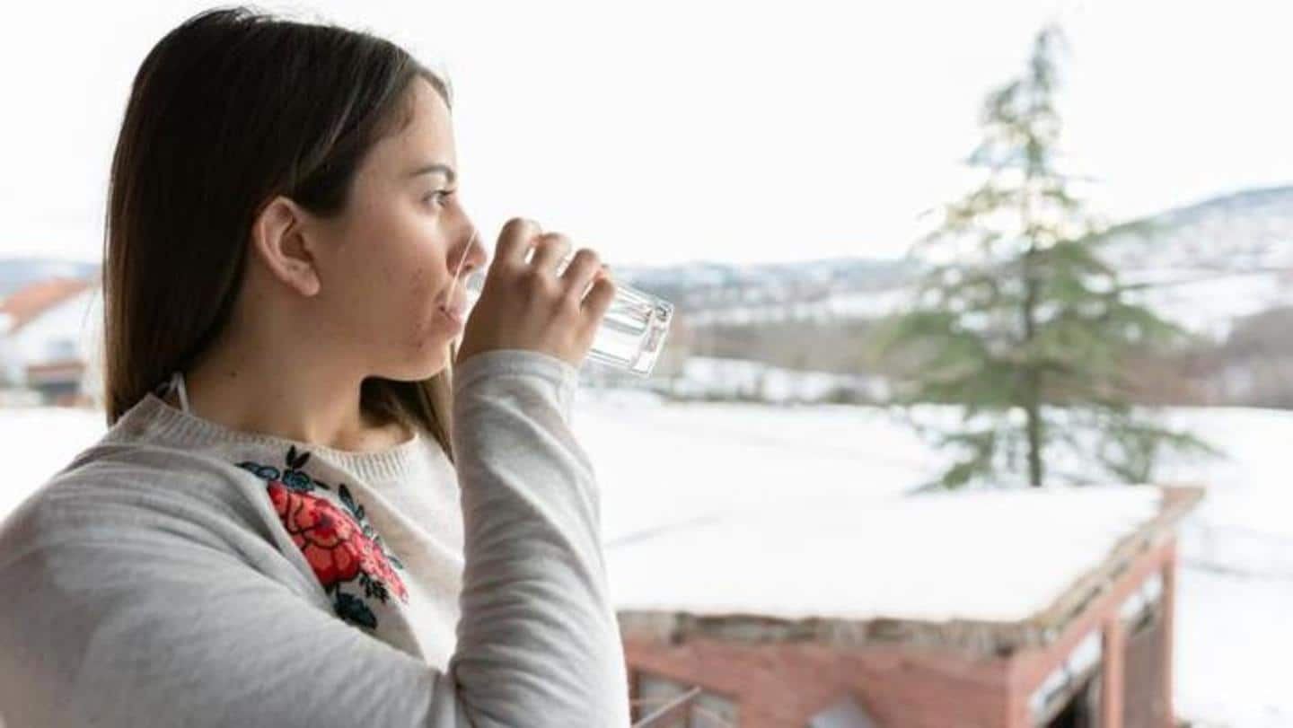 #HealthBytes: Some effective tips to stay hydrated during winter season