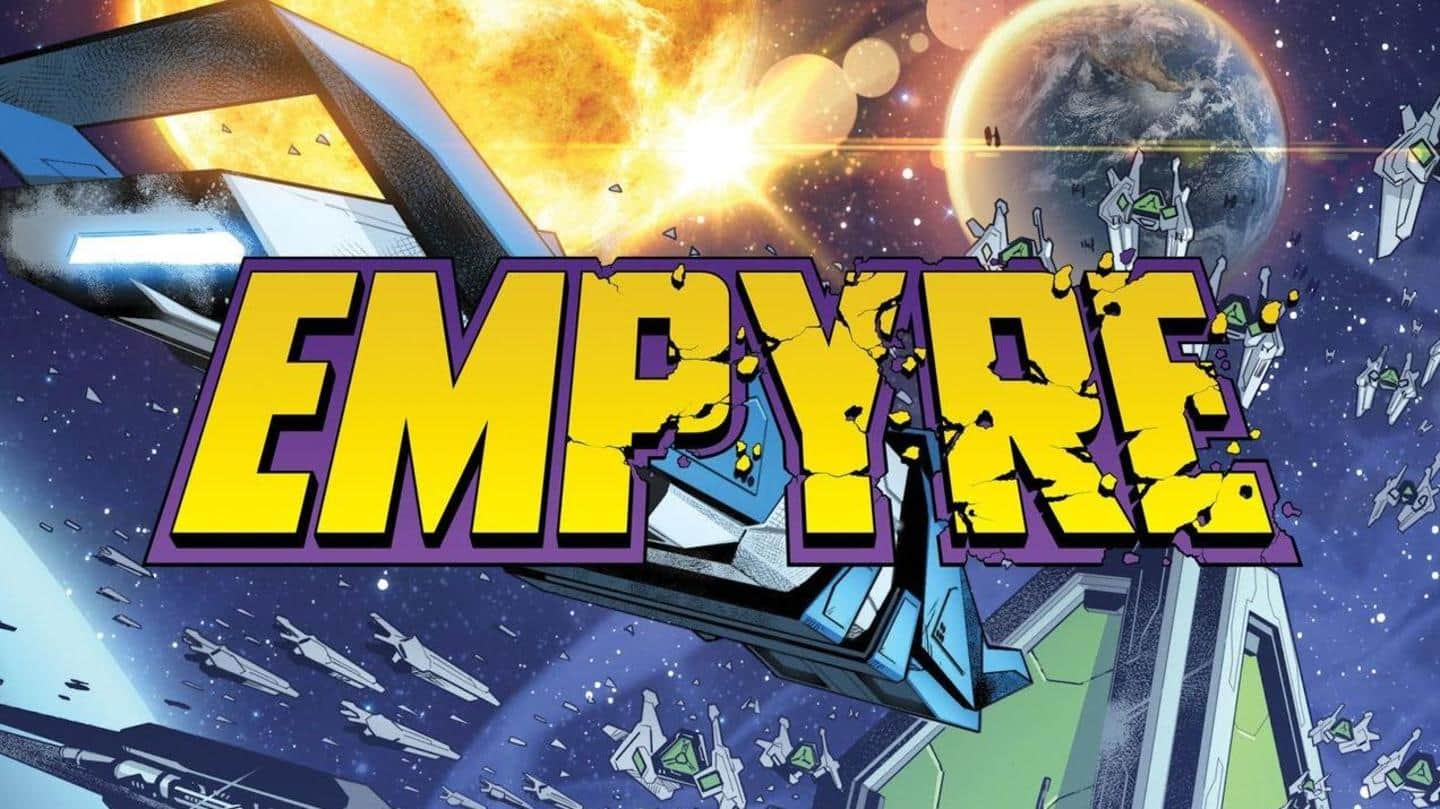All about Marvel's new comic storyline 'Empyre'