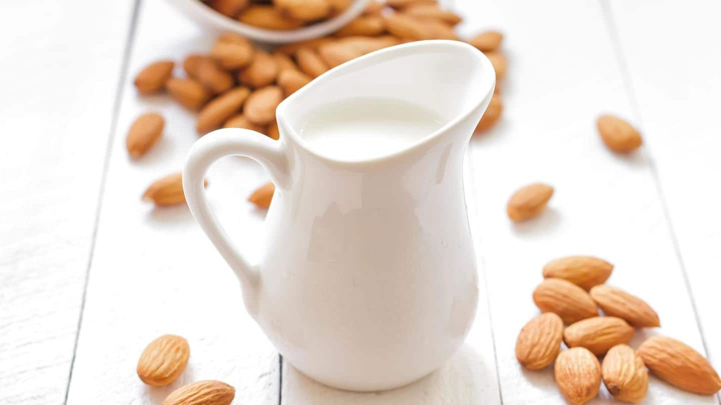 Choose low-carb dairy products like almond milk, coconut milk