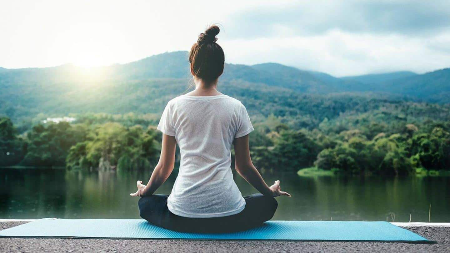 #HealthBytes: Yoga asanas that can help you with anxiety