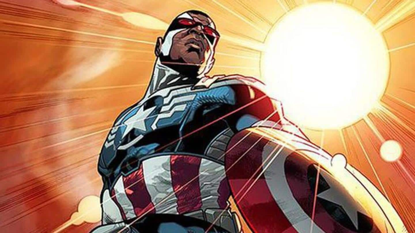The story of Falcon (Sam Wilson) becoming the new Cap