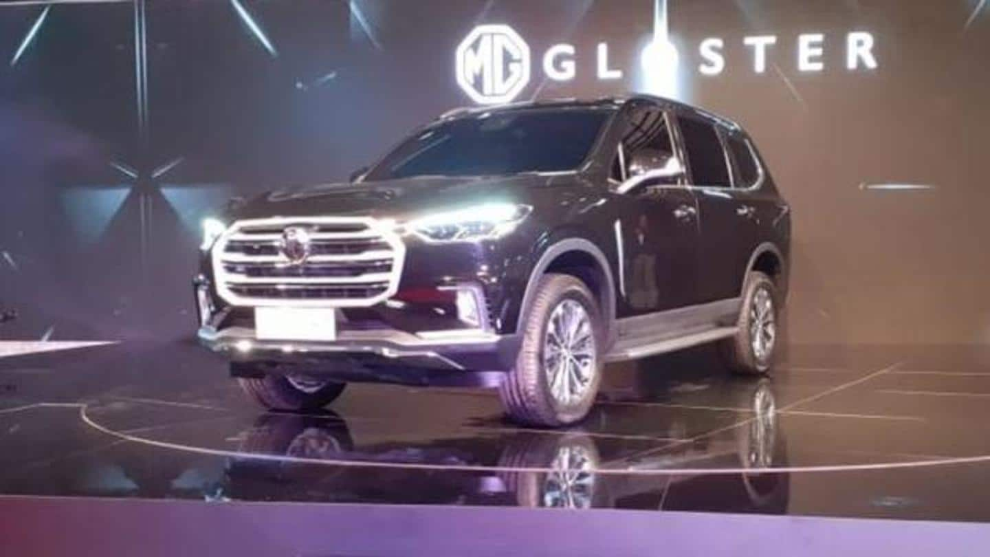 MG Motor India to launch Gloster SUV in early October