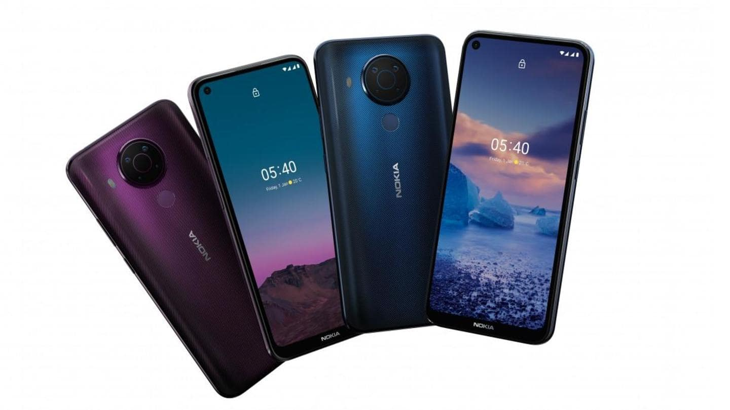Nokia 5.4, with quad rear cameras and 4,000mAh battery, launched