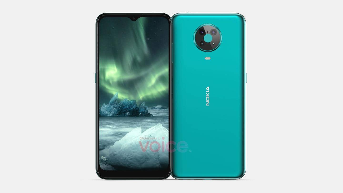 Nokia 6.3 appears in renders, design and features revealed