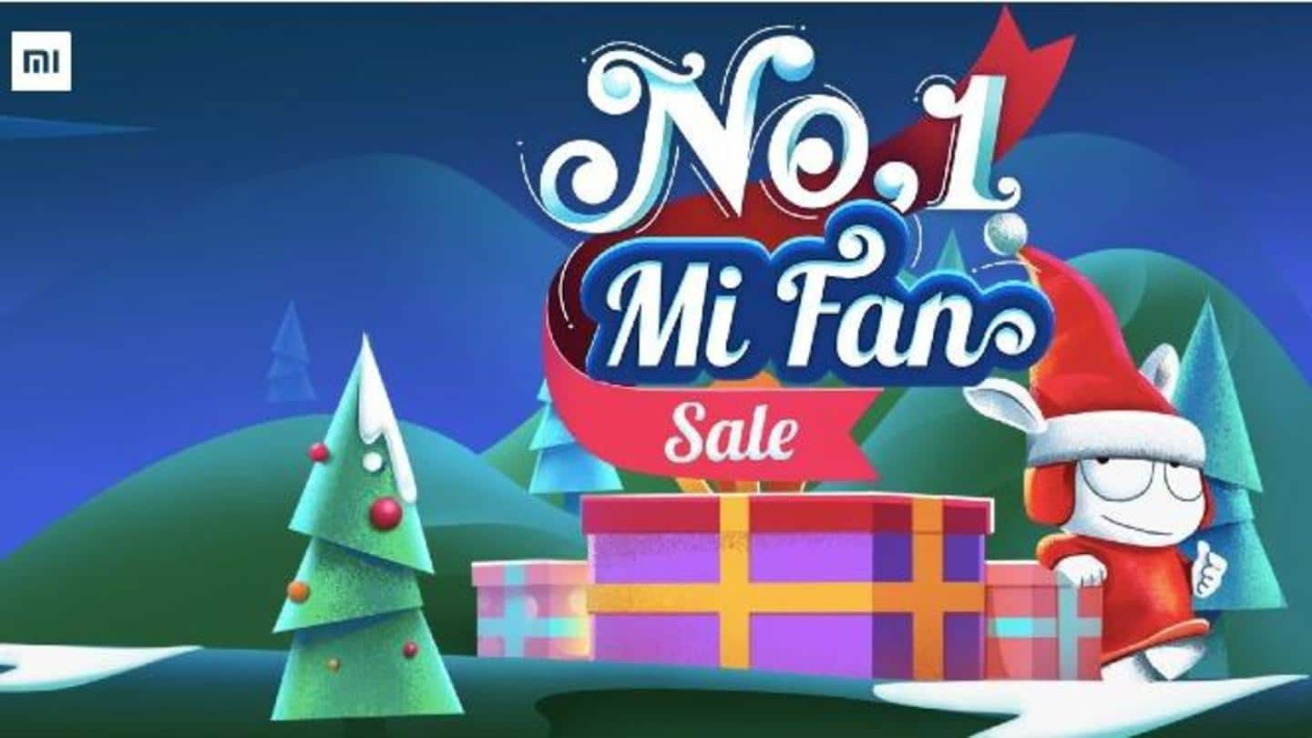 No. 1 Mi Fan Sale: Discounts on popular Xiaomi smartphones