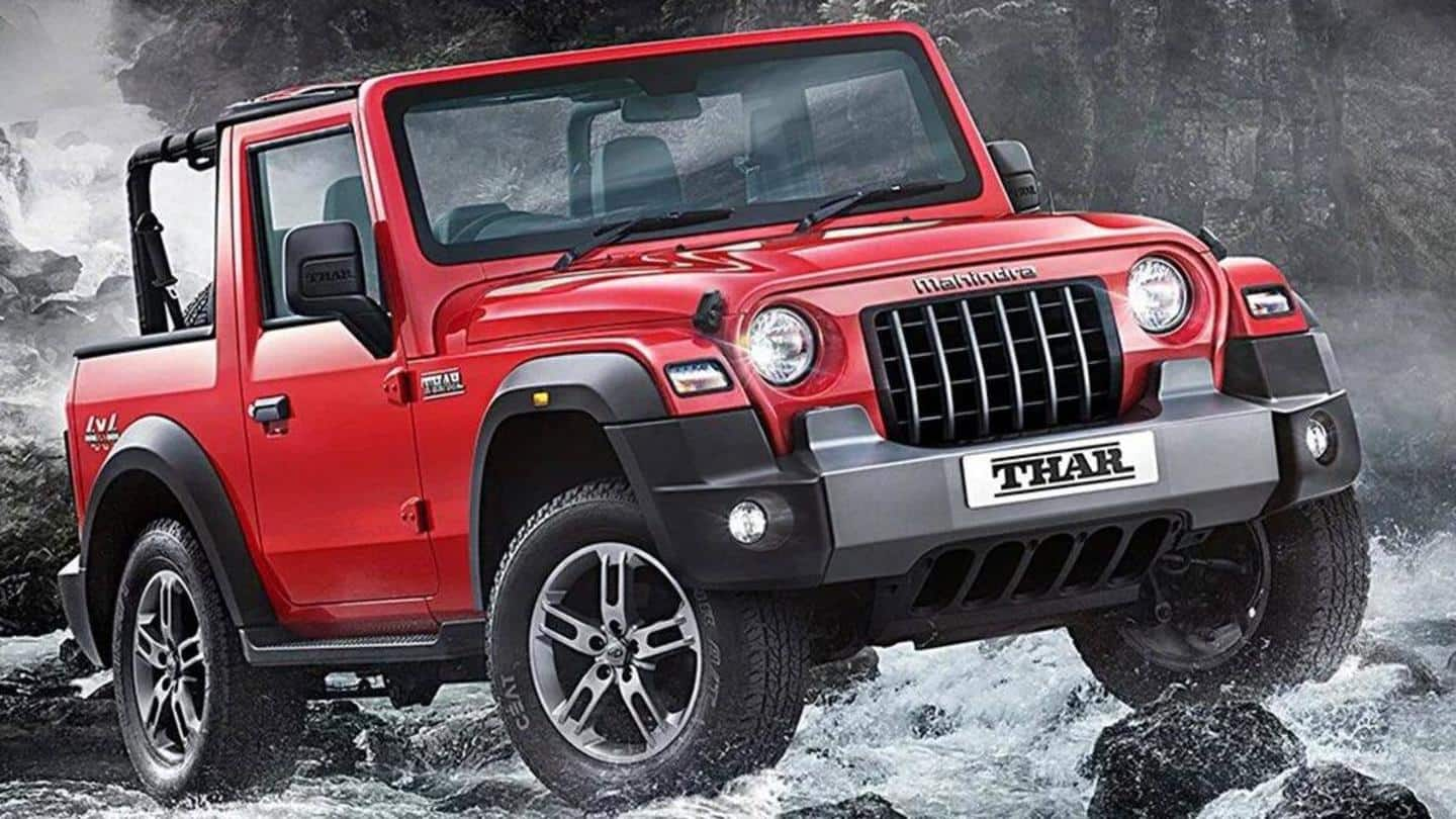 Mahindra Thar booked until May 2021, production to be increased