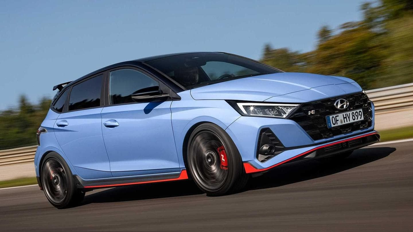 Hyundai's i20 N Line hatchback goes official with 204hp powertrain