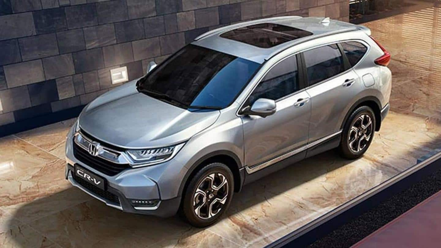 Honda CR-V Special Edition to start at Rs. 29.50 lakh