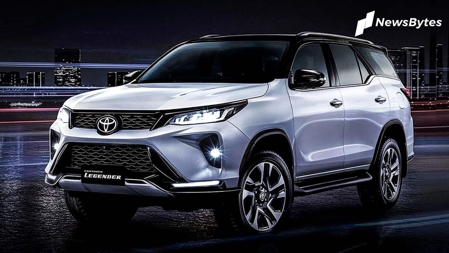 Ahead of launch, 2021 Toyota Fortuner Legender spied again