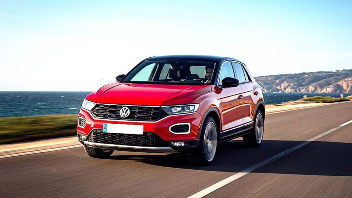 Volkswagen's T-Roc SUV sold out in India