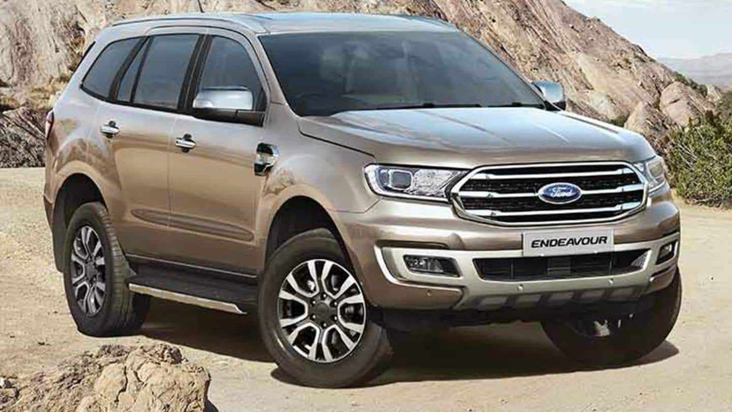 These Ford cars will become costlier from April 1   NewsBytes