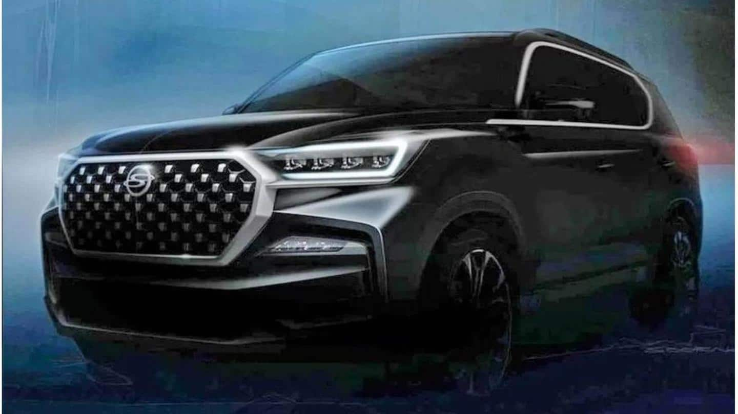 Ahead of launch, SsangYong Rexton G4 (facelift) teased