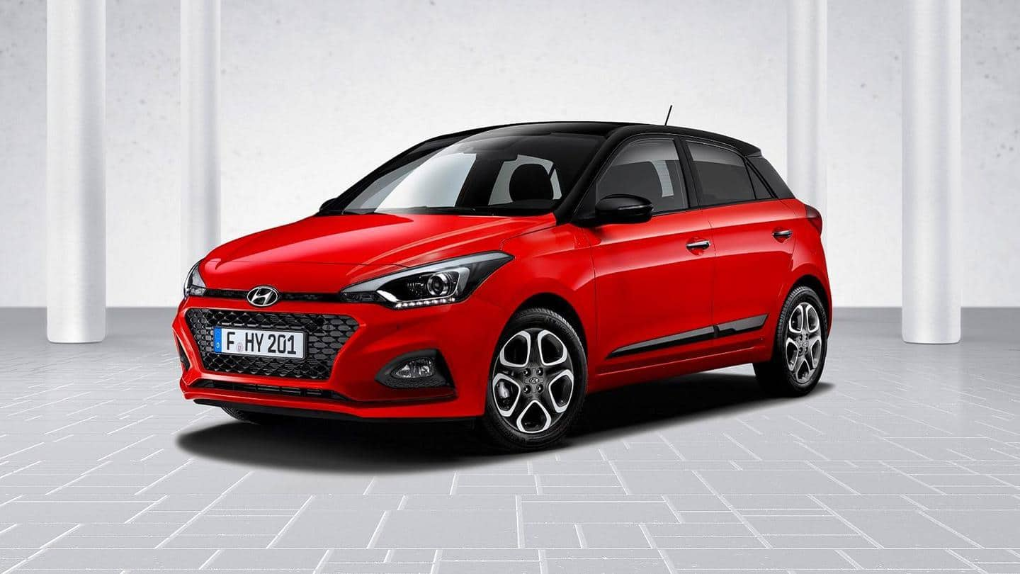 Ahead of launch, Hyundai i20's Sportz variant spotted