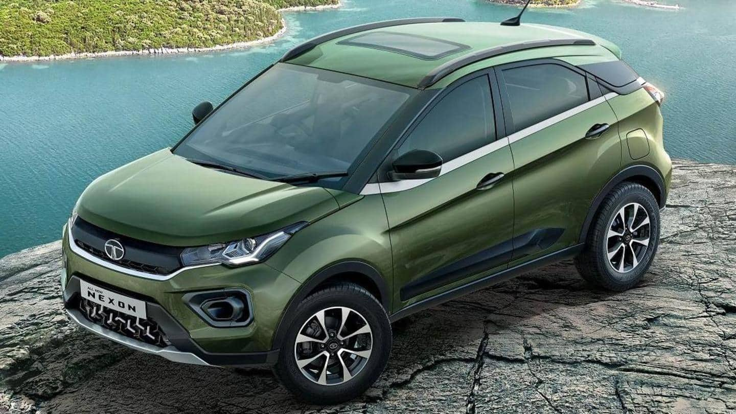 Tata Nexon hits 1.5 lakh production milestone in three years