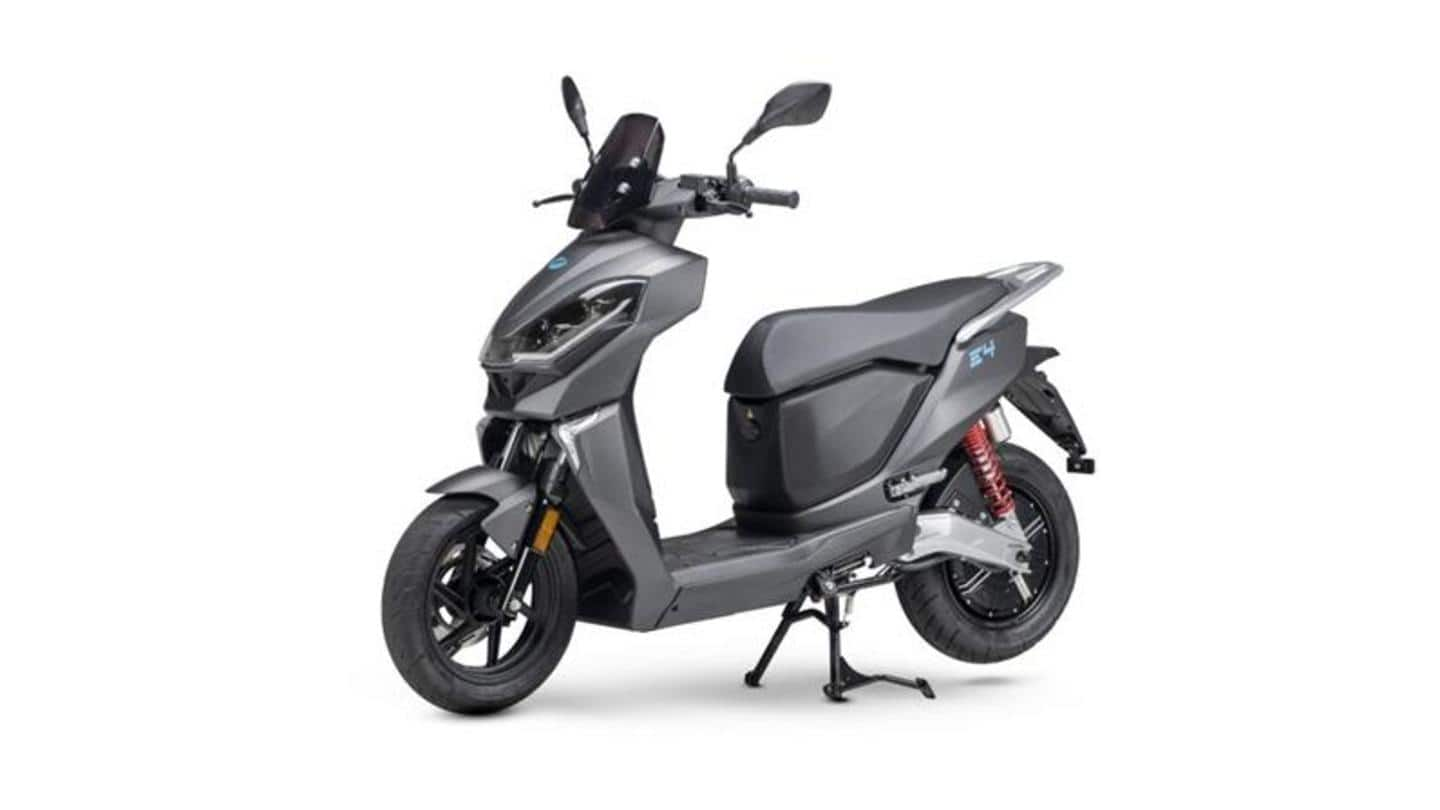 Lifan announces E4 electric scooter in the Italian market