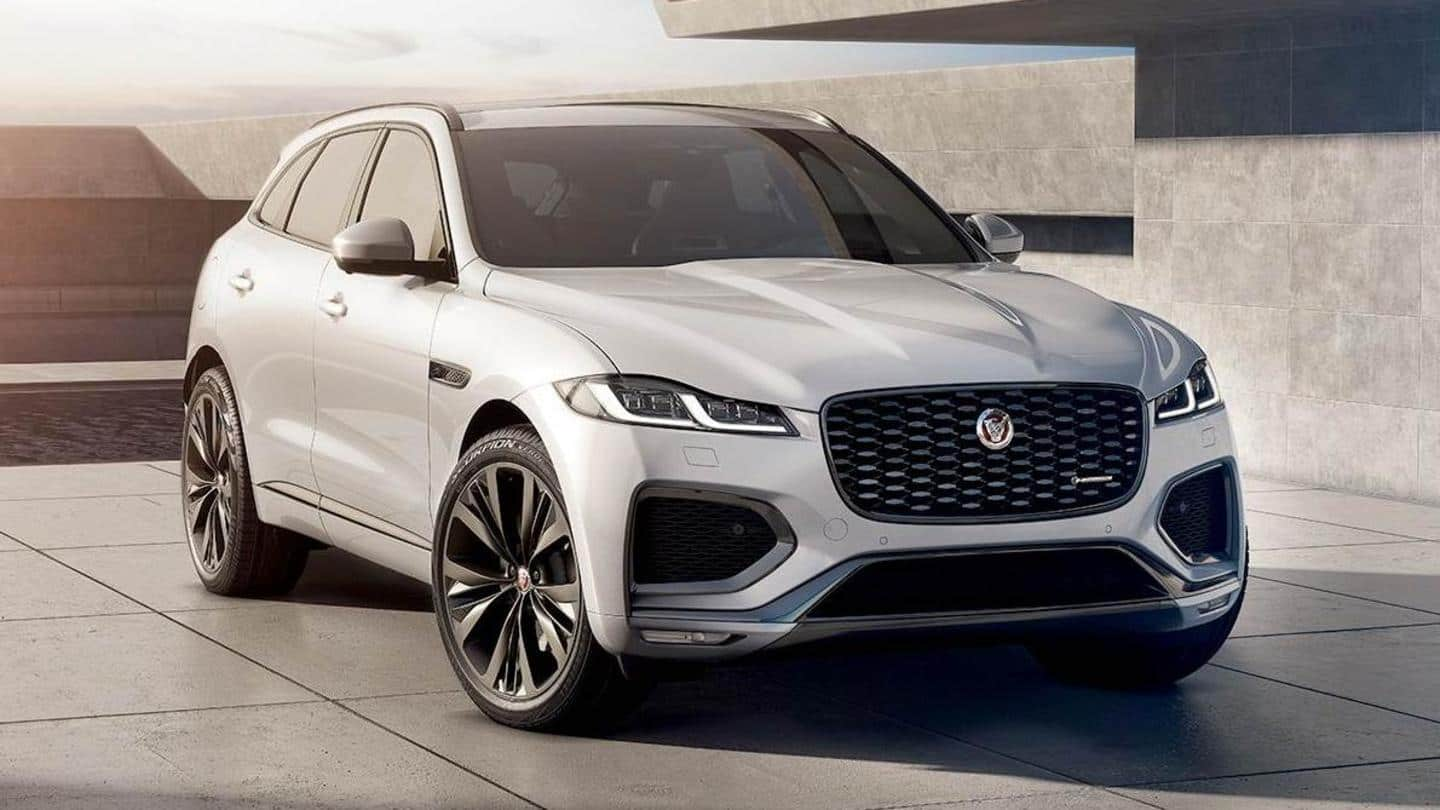 Jaguar F-Pace (facelift) breaks cover: Check what's new