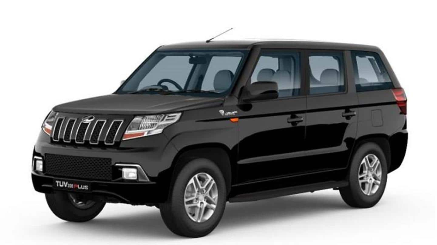 Mahindra TUV300 Plus (facelift) appears in spy images, features revealed
