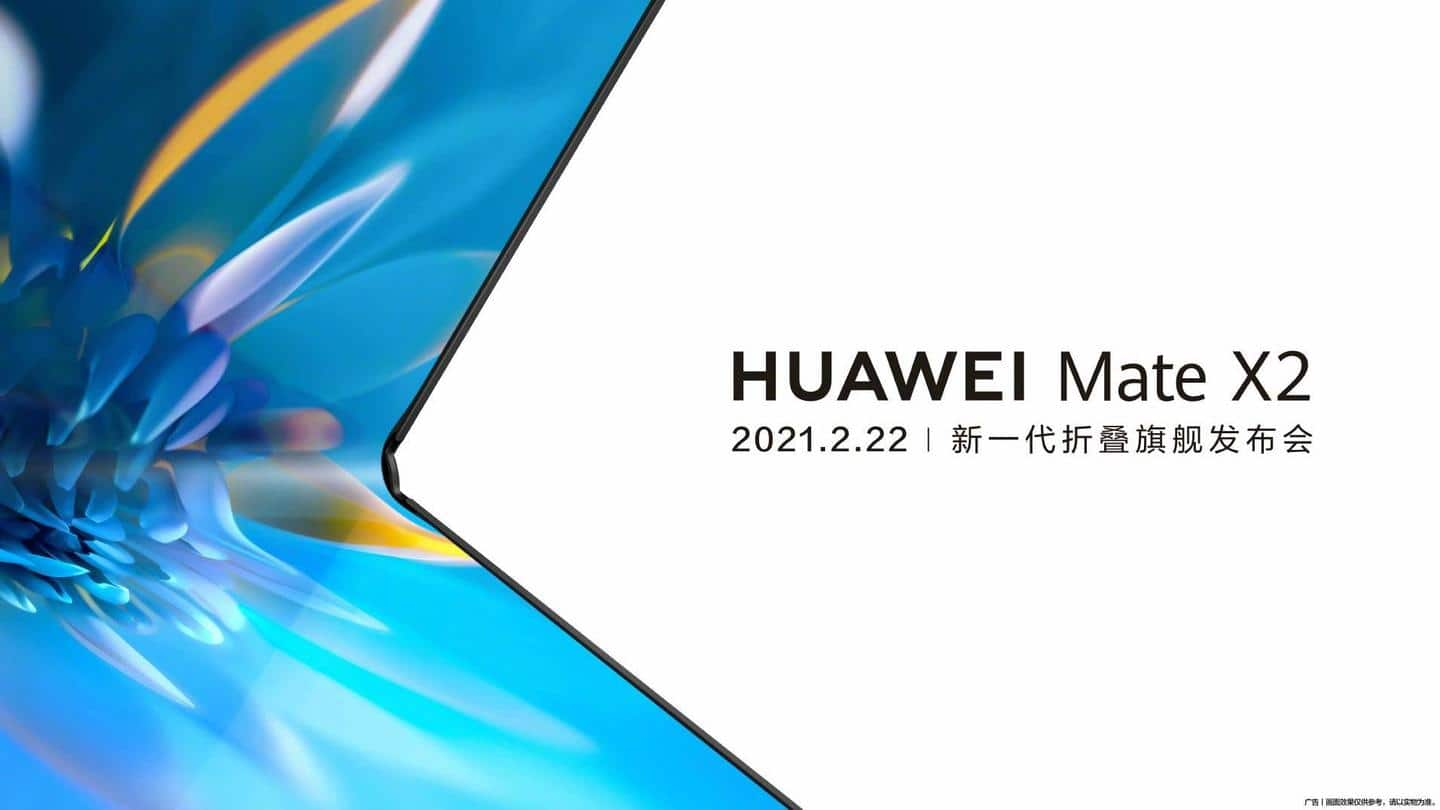 Huawei's next foldable will be launched on February 22
