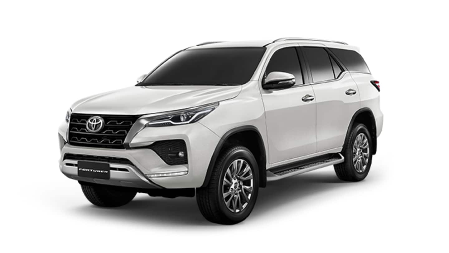 Ahead of launch, Toyota teases Fortuner (facelift) SUV in India