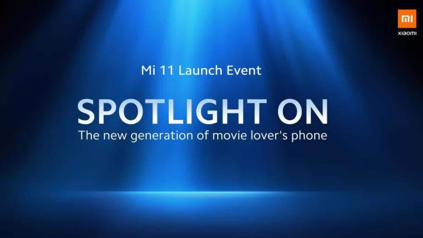 Mi 11 set for a global debut on February 8