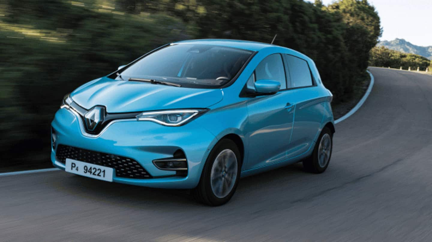 Renault Zoe EV spotted testing in India, launch imminent