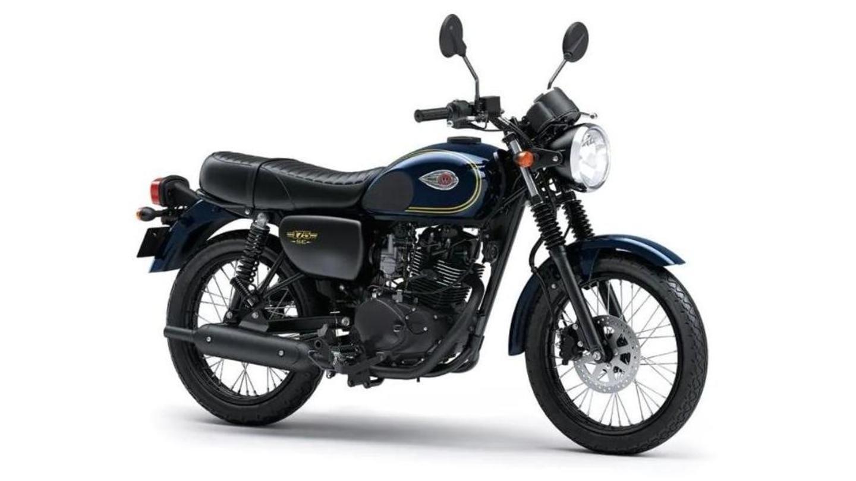India-bound 2021 Kawasaki W175 gets a new color option