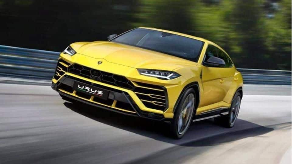 Fastest SUV by Lamborghini arrives in India for Rs. 3cr!