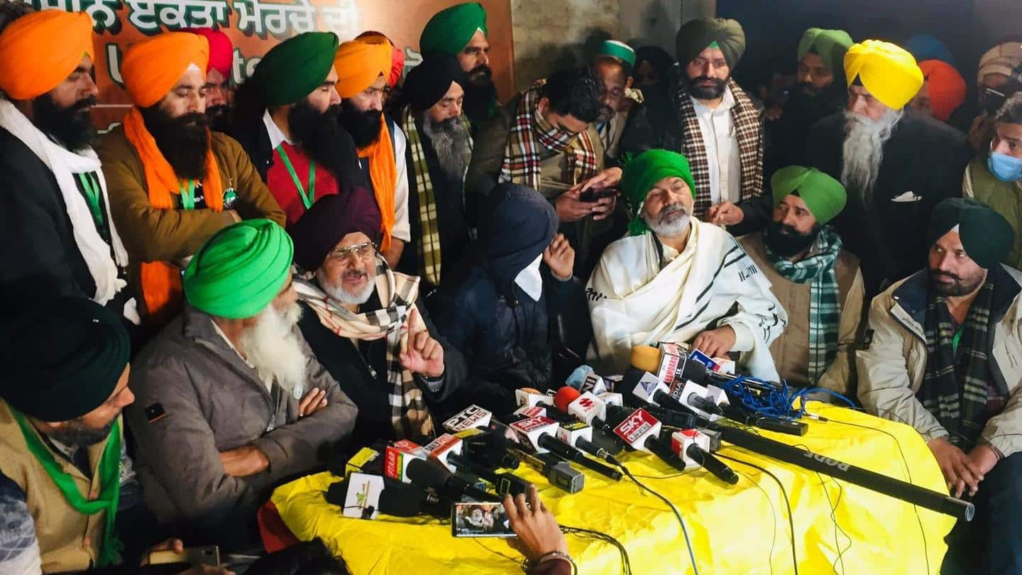 Farmers nab man trained to disrupt tractor-rally, kill protest leaders