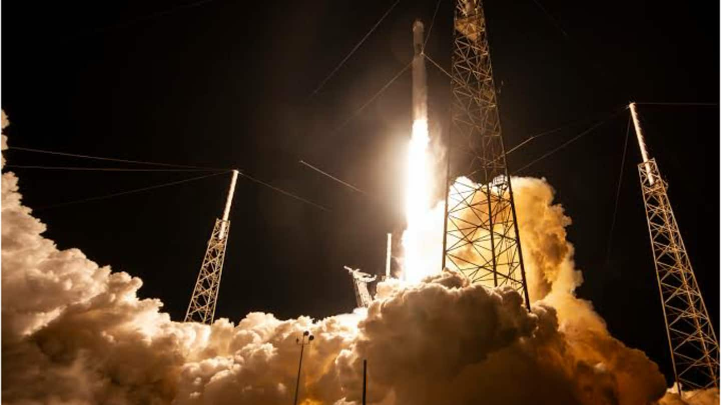 SpaceX's Crew Dragon 'Resilience' successfully launches 4 astronauts to ISS