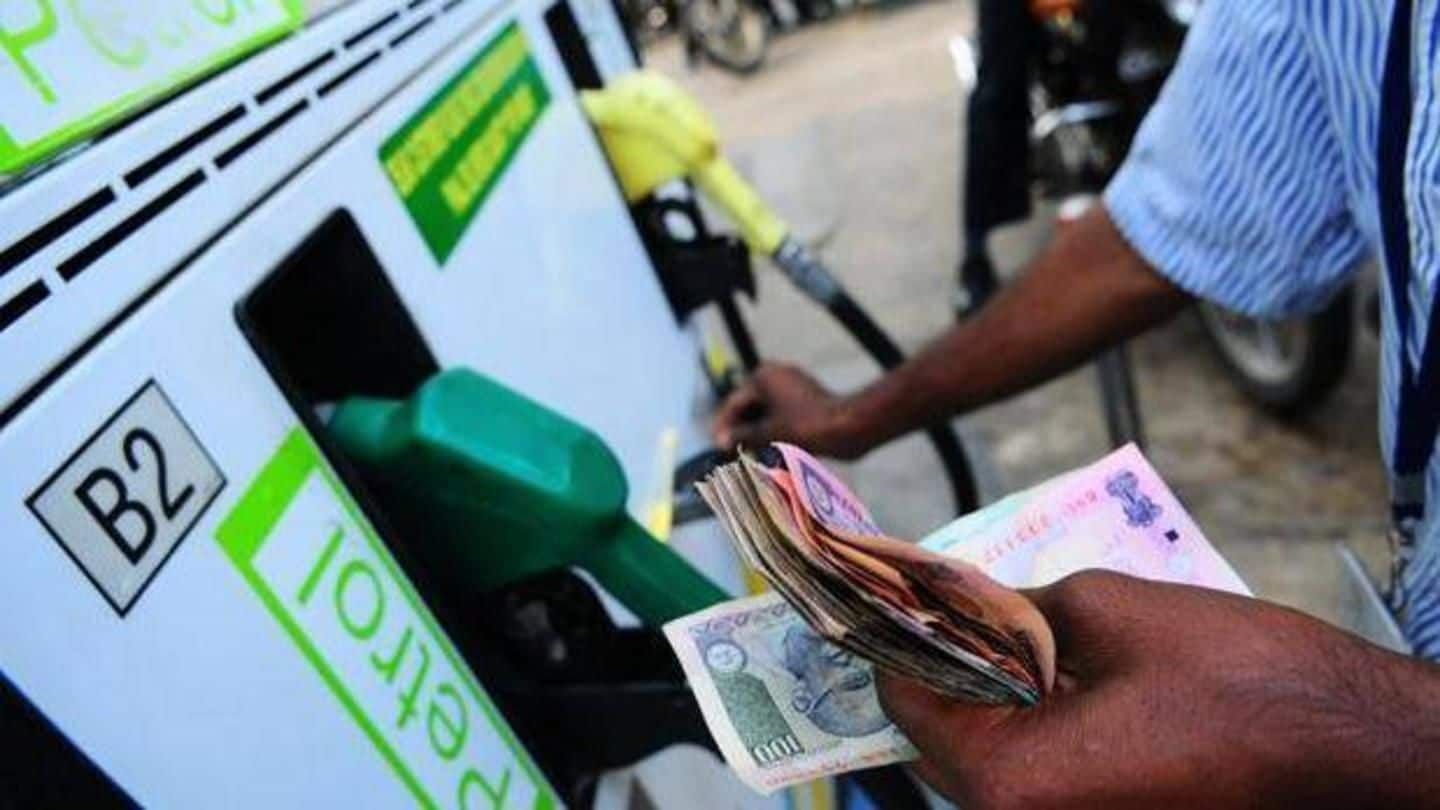 Petrol, diesel prices hiked again. Here are revised fuel rates