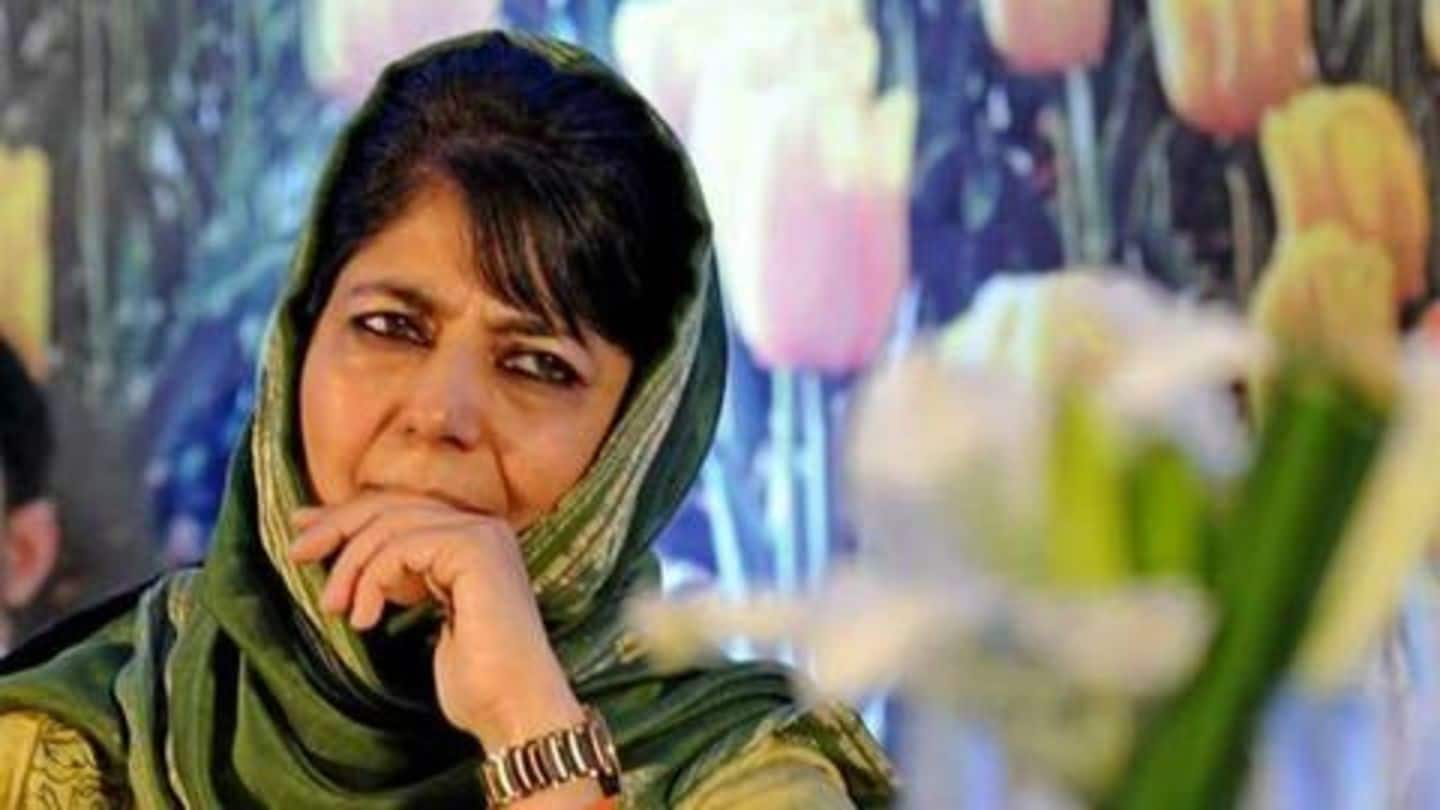 J&K: Mehbooba, Lone stake claim to form government; Assembly dissolved