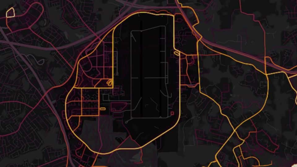 "Fitness app Strava ""accidentally"" reveals secret army locations across countries"