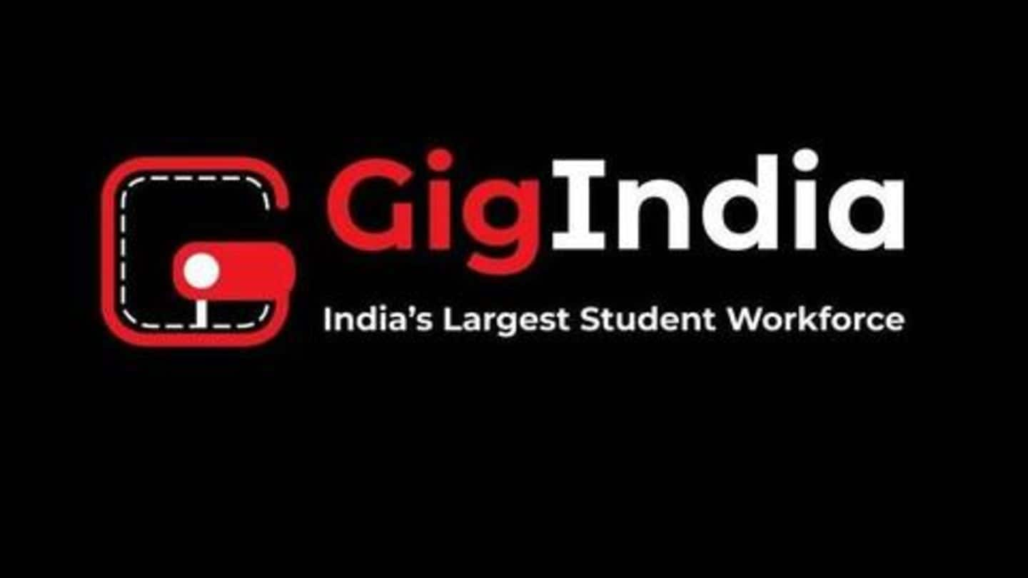 GigIndia is another useful app for college students
