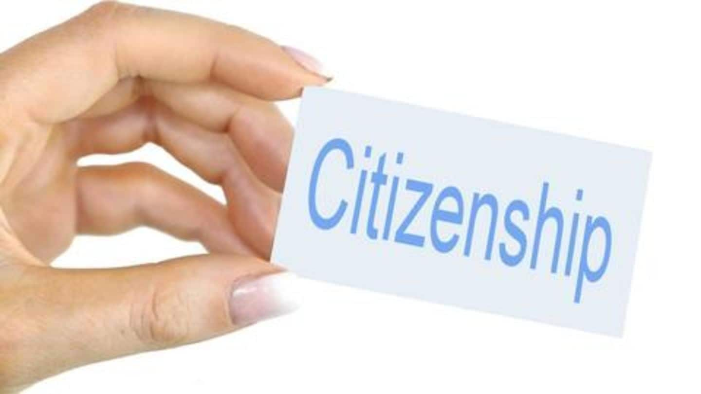 Different ways in which one can acquire citizenship in India