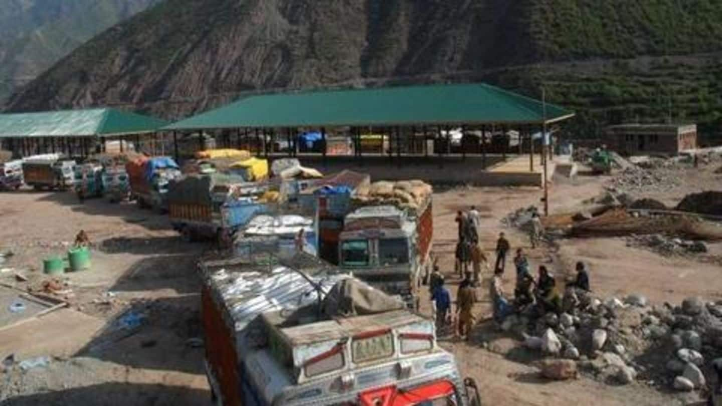 LoC trade with PoK suspended; routes being used by terror-elements