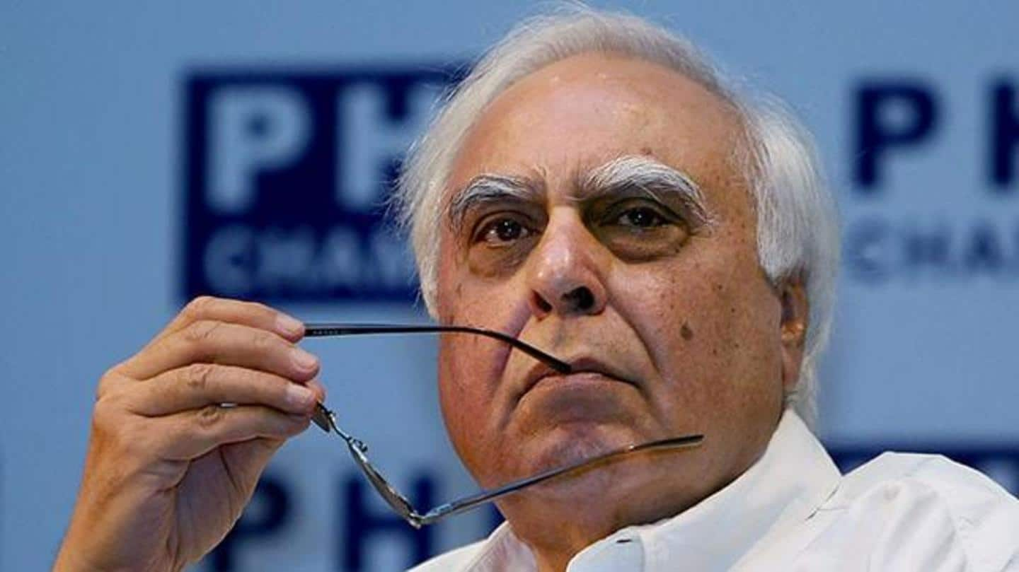 Congress not effective alternative anymore: Kapil Sibal after Bihar verdict