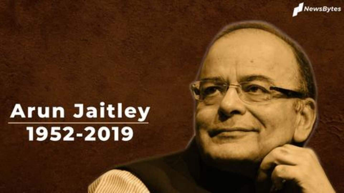 #RIPArunJaitley: Seven things to know about the late BJP stalwart