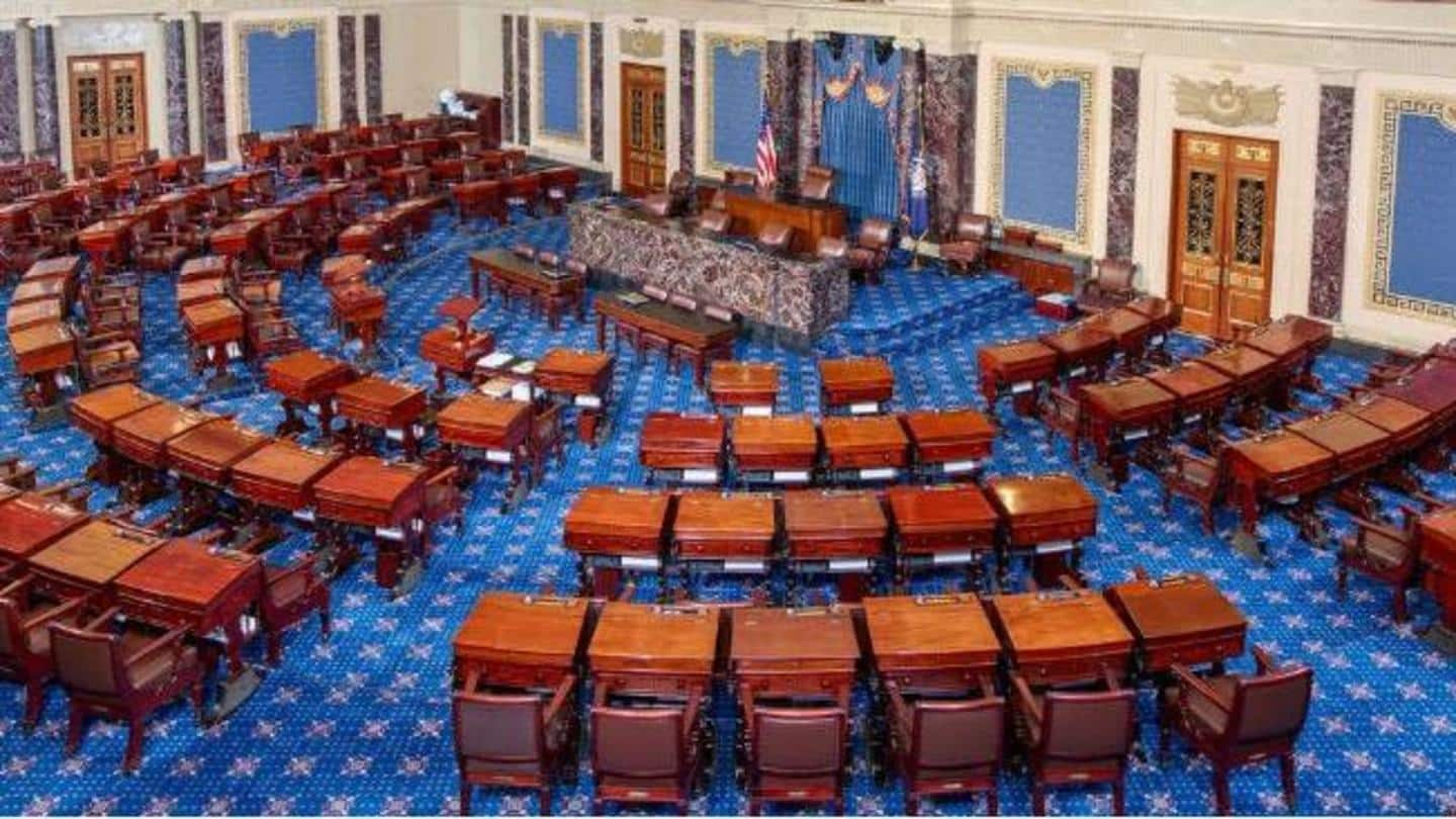 Conviction depends on a two-thirds majority in US Senate