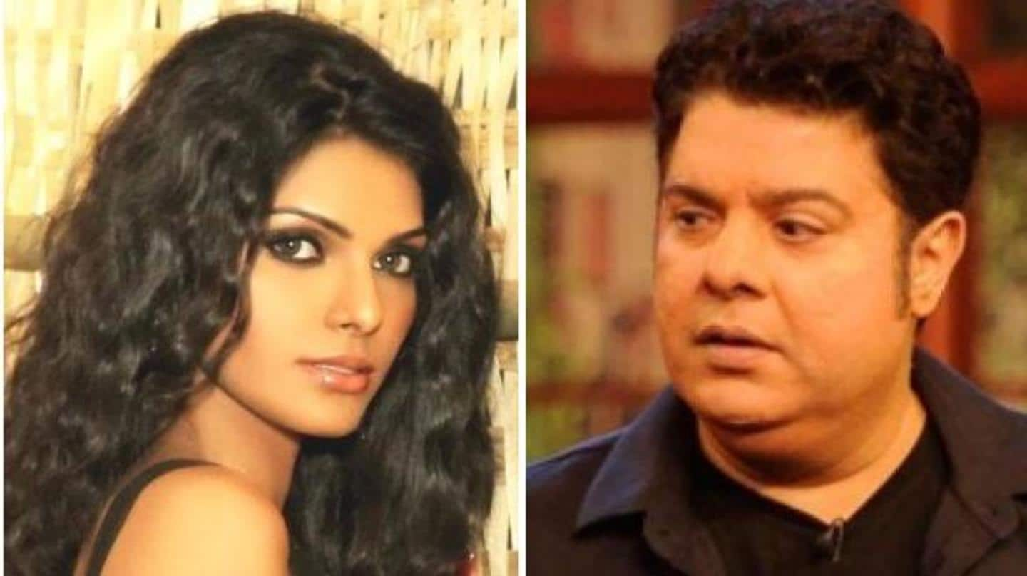 Sajid Khan asked me to feel his penis, alleges Sherlyn
