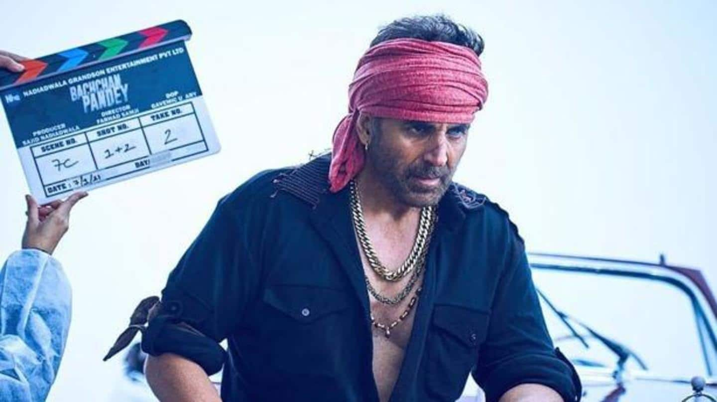 'Bachchan Pandey': Akshay Kumar shares new look from the movie