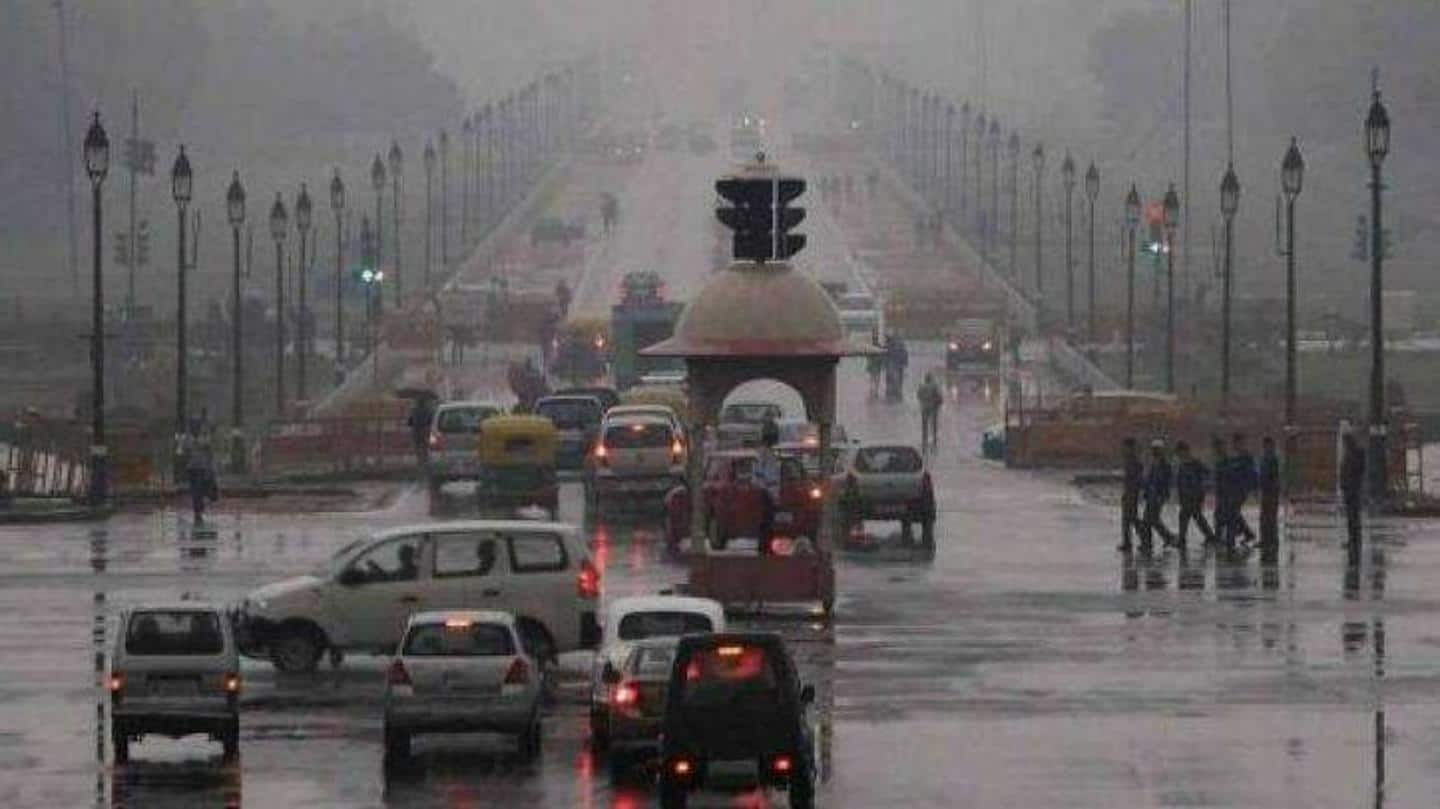Rain, hailstorm lash parts of Delhi-NCR