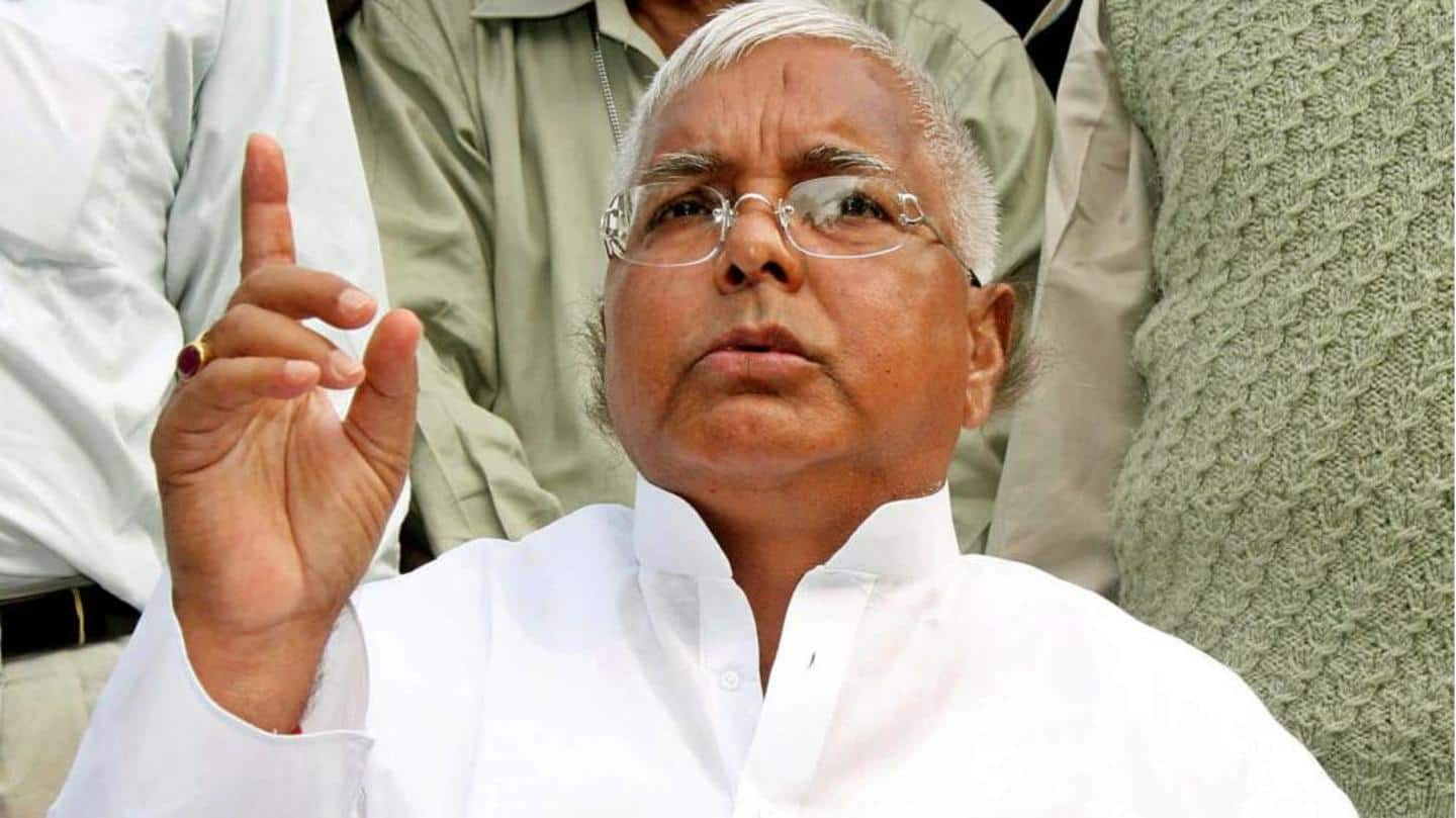 Lalu Prasad to be shifted to AIIMS as health deteriorates