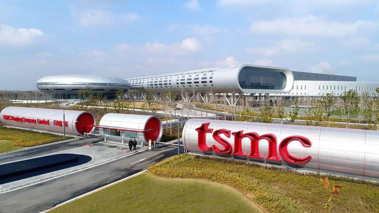Global chip shortages will continue until 2023, TSMC says