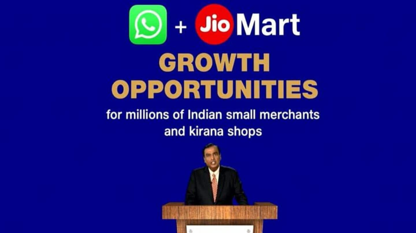 Soon, Reliance may let you order groceries from WhatsApp