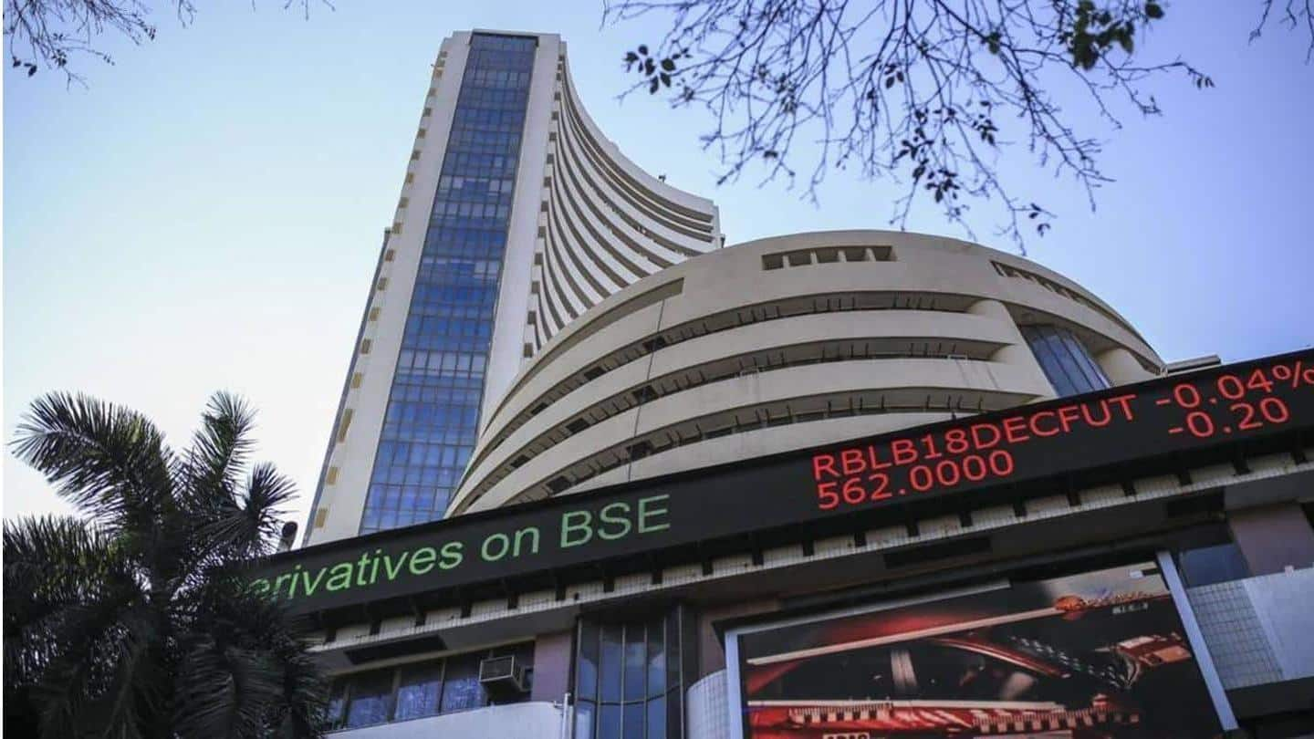 Sensex plummets over 1,400 points amid spurt in COVID-19 cases
