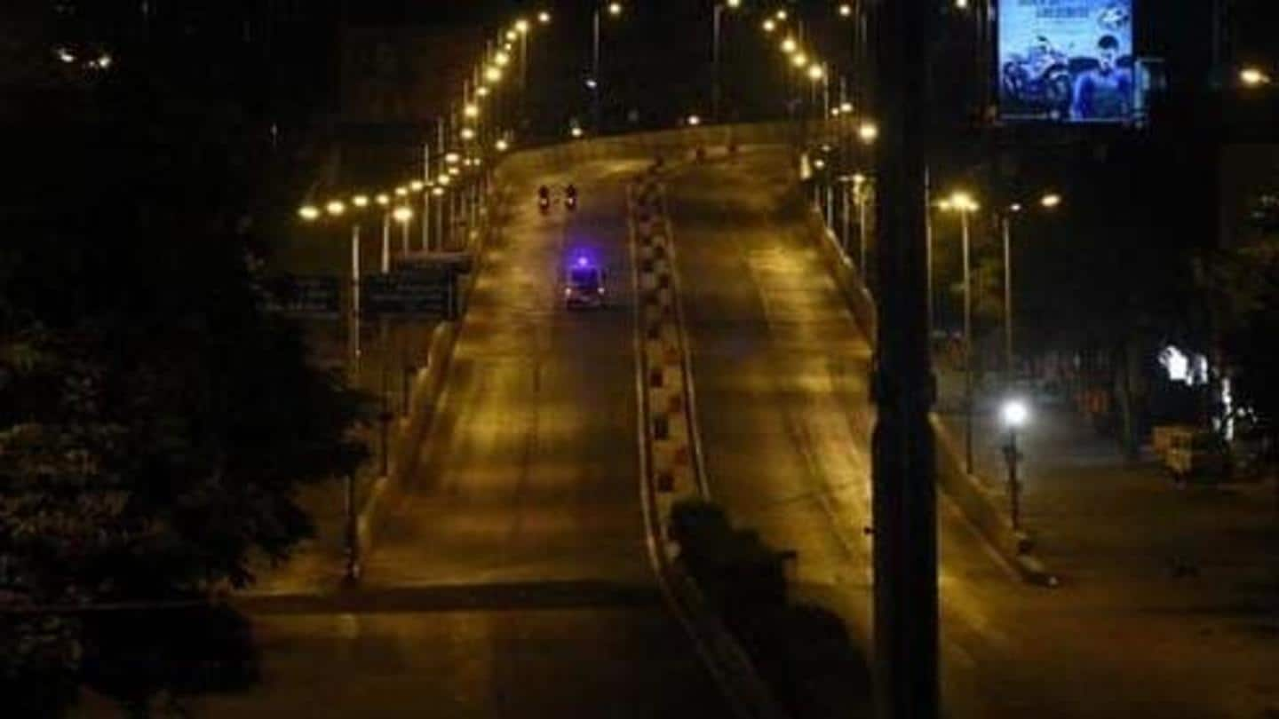 Gujarat: Night curfew in 20 cities from today