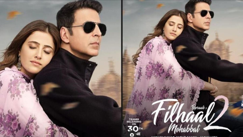 Akshay Kumar drops first poster of music video Filhaal 2