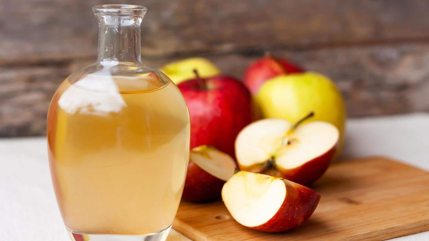 #HealthBytes: Before using apple cider vinegar, know all about it