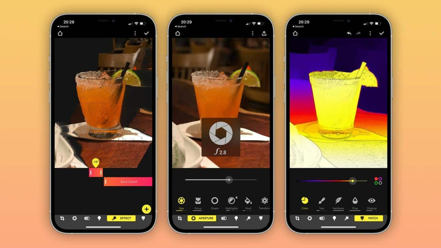 Focos app adds support for Apple ProRAW; sports improved UI