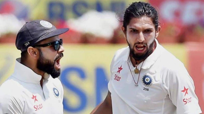 Kohli commends Ishant for his longevity